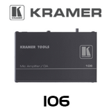 Kramer 106 1:2 Microphone to Line Distribution Amplifier
