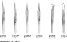 Swiss Jewelers Style Forceps