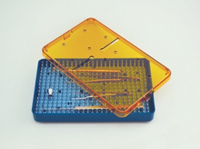 Microsurgical instrument tray, small
