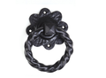 Heavy Duty Twisted Handle Ring Pull Black
