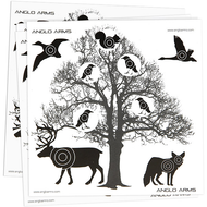 Anglo Arms Paper Tree Targets paper  50pc x 14cm