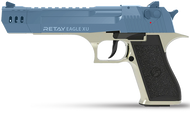 Retay Desert Eagle XU - Blank Starting Pistol in Satin & Blue (9mm)