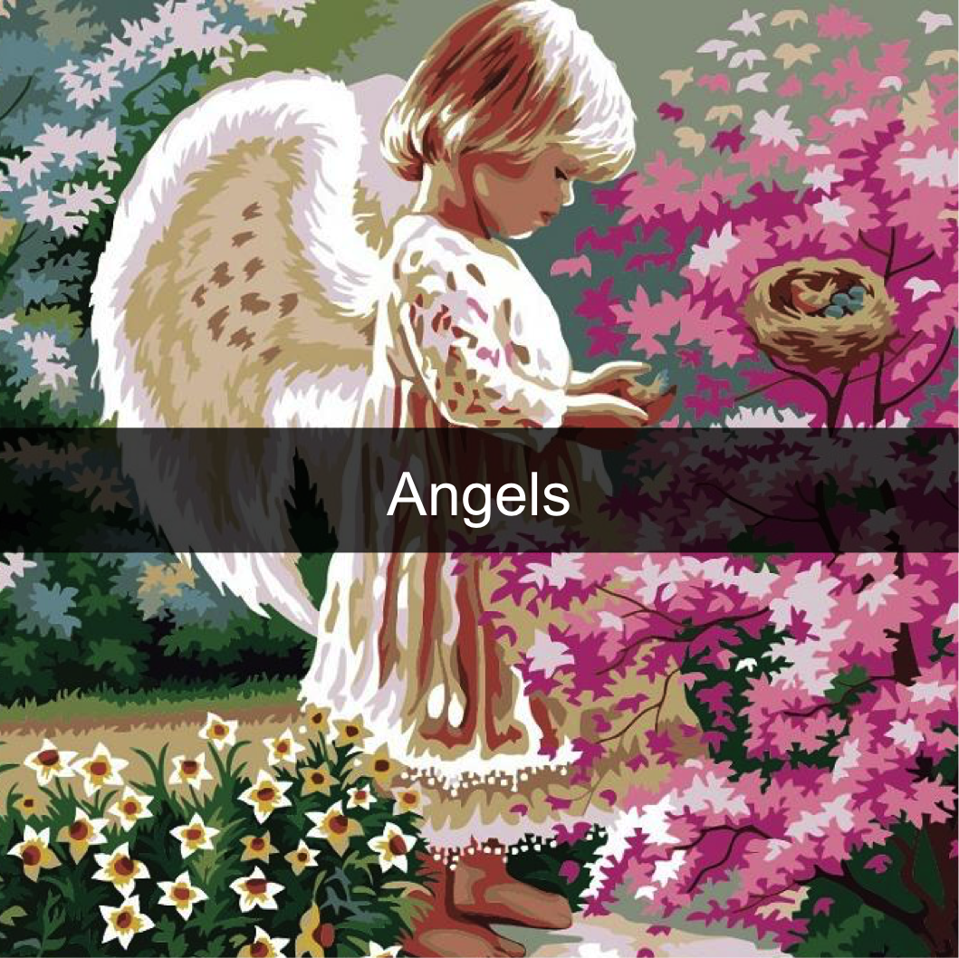 Paint by Numbers Kits - Angels