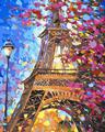 Blossom Eiffel Tower