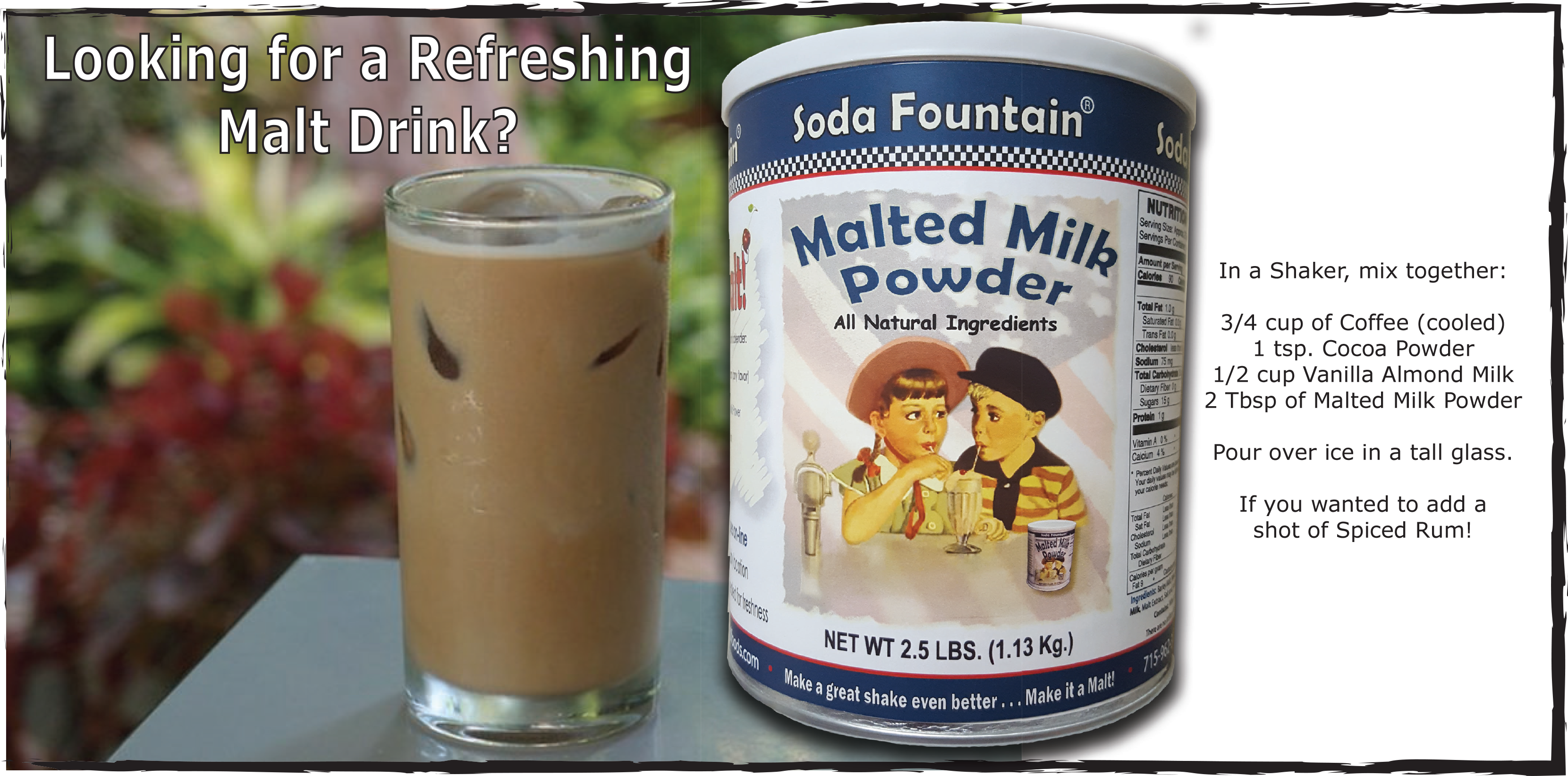 CTL Foods - Official Site of Soda Fountain ® Malted Milk Powder