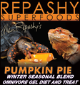 "Repashy ""Pumpkin Pie"" will be manufactured in a one-time limited production run (like all seasonal blends)."