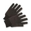 Brown Jersey gloves (12pair)