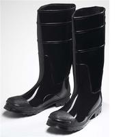 "PVC Steel Toe Boots 16"""