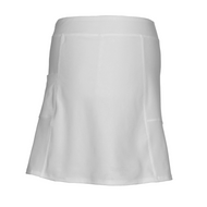 Ladies Golf Skort in White Longer Length