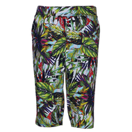 Ladies Golf Pants in Funky Jungle Print