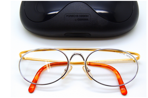 Buy Vintage Porsche Glasses at www.theoldglassesshop.co.uk