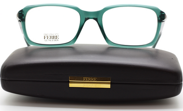 Rectangular Gianfranco Ferre GFF 444 Vintage Green Eyewear At The Old Glasses Shop