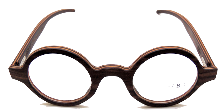 cc7a5e9ab9 Hand Made To Order In Italy Wooden True Round Eyewear by FEB31st Model  Callisto