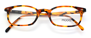 Slim fashionably vintage rectangular glasses from www.theoldglassesshop.com
