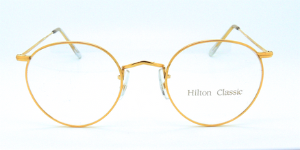 Hilton By Algha Works 47mm Panto Shaped Vintage Eyewear