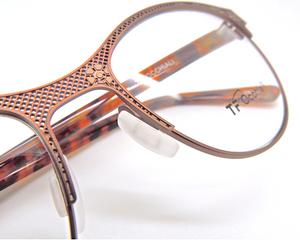 TF Occiali Bronze Flower Patterned Eyewear At The Old Glasses Shop Ktd