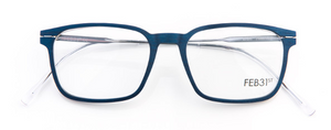 The best glasses in the world? FEB31st wooden eyewear with metal arms  Hand Made in Italy Model MARC