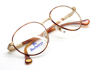 Burberry B8758 Gold & Tortoiseshell Vintage Eyewear At The Old Glasses Shop Ltd