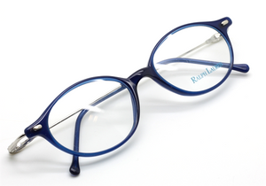 Designer Ralph Lauren electric blue 577 2AD eye wear from The Old Glasses Shop Ltd