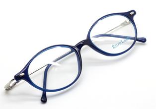 Designer Ralph Lauren electric blue 577 2AD eye wear from The Old Glasses Shop Ltd