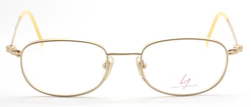 Vintage Yamamoto 5103 Rectangular Matt Gold Spectacles At The Old Glasses Shop Ltd