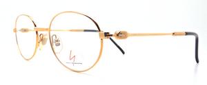Yohji Yamamoto 51-4108 Oval Gold Frame At The Old Glasses Shop Ltd