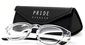 Pride 601 Clear Eyewear Hand Made in Italy Buy Them At The Old Glasses Shop