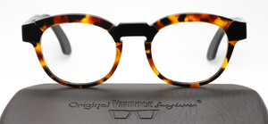Bacoli Acetate Square Style Glasses By Original Vintage At www.theoldglassesshop.co.uk