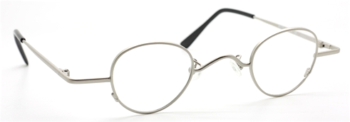 Small panto shaped vintage eyewear by Beuren at The Old Glasses Shop