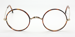 True Round Gold NHS Style Vintage Eyewear At The Old Glasses Shop