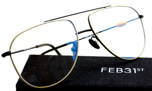 Feb31st ZERO Metal Aviator Eyewear At The Old Glasses Shop