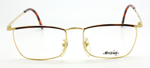Sting 303 Designer Vintage Rectangular Eyewear At The Old Glasses Shop