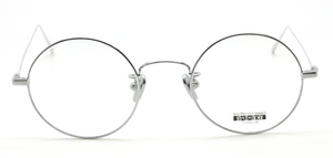 Vintage Style Round Titanium Eyewear By Les Pieces Uniques At The Old Glasses Shop