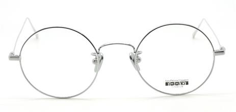 Vintage Style Round Titanium Eyewear By Les Pieces Uniques At The Old Glasses Shop
