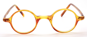 Vintage 36mm Small Round Acrylic Eyewear At The Old Glasses Shop Ltd