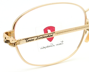 Vintage Tonino Lamborghini Rectangular Cog Design Eyewear At The Old Glasses Shop