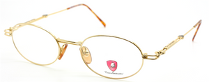 Tonino Lamborghini 084 Oval Gold Eyewear At The Old Glasses Shop