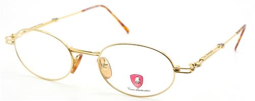 Tonino Lamborghini 084 Oval Gold Eyewear At The Old Glasses Shop