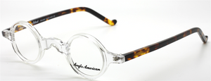 Anglo American Groucho.  Small Round Glasses
