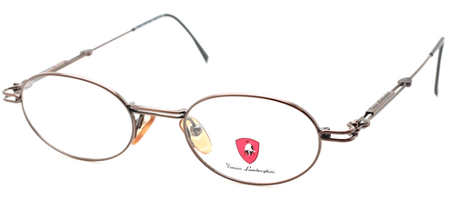 Tonino Lamborghini 084 Oval Bronze Eyewear At The Old Glasses Shop