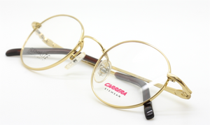 Vintage Carrera 7412 Small Oval Shaped Flexible Eyewear At The Old Glasses Shop