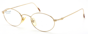 Vintage Ralph Lauren Polo Classic 141 Oval Stainless Steel Eyewear At The Old Glasses Shop