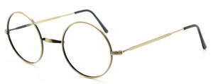 Antique Gold True Round Vintage Spectacles By Beuren At The Old Glasses Shop