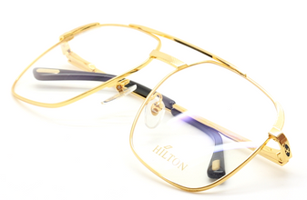 Hilton Class 010 Large Aviator 24kt Gold Plated Vintage Eyewear At The Old Glasses Shop