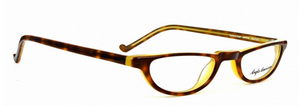 Aglo American Oxford MHYA Tortoiseshell and Yellow Half Eye Reading Glasses from www.theoldglassesshop.co.uk
