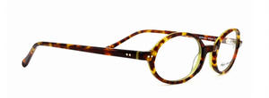 Anglo American 401 MTGN Oval Glasses in Tortoiseshell and Green from www.theoldglassesshop.co.uk