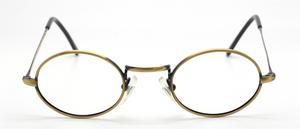Antique Gold Vintage Oval Eyewear By Beuren At The Old Glasses Shop