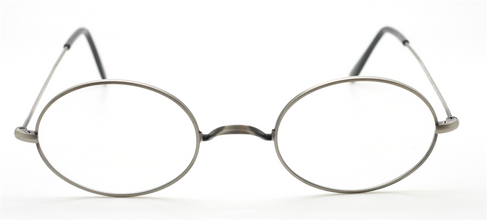Beuren 1720 Oval Style Vintage Eyewear With Saddle Bridge At The Old Glasses Shop