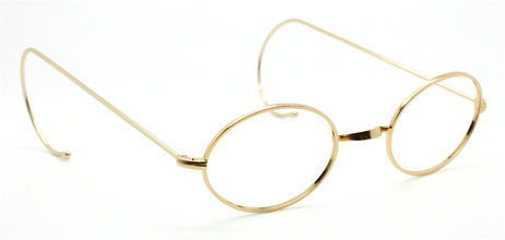 Vintage Style Oval Frames By Beuren With Warwick Bridge & Curlsides AND NOW WITH MATCHING SUNCLIP At The Old Glasses Shop Ltd