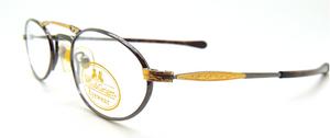 Willis & Geiger Hemingway Gunmetal & Gold At The Old Glasses Shop Ltd